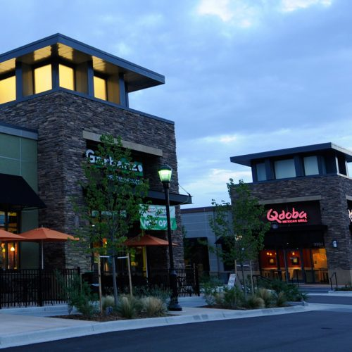 Complete Community Retail in RidgeGate, Lone Tree, Colorado