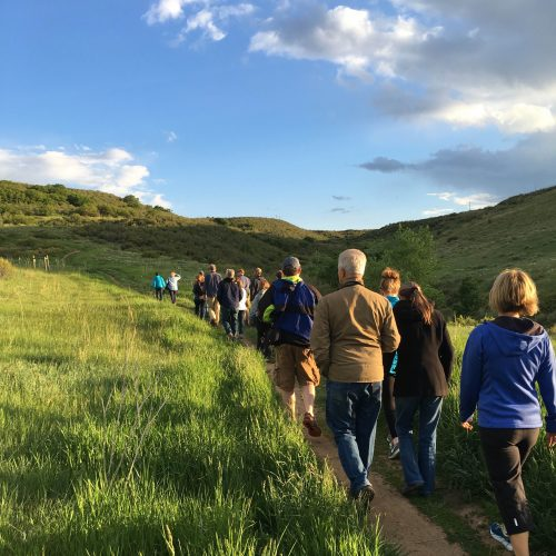 Lone Tree events hike RidgeGate