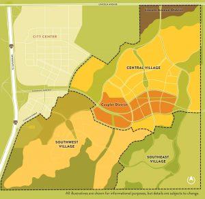 RidgeGate east side map Lone Tree