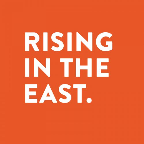 Rising in the East graphic